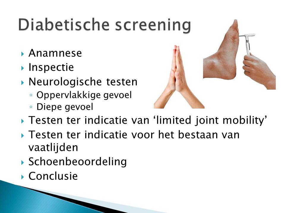 Diabetische screening