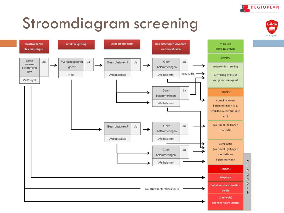 Stroomdiagram screening