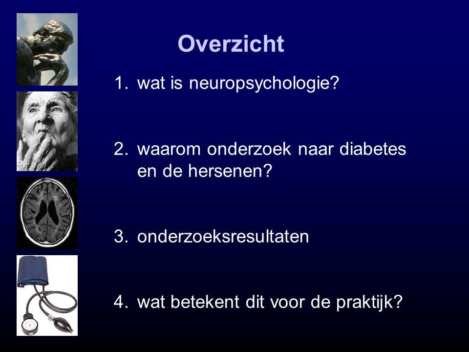 Overzicht wat is neuropsychologie