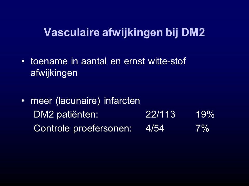 Vasculaire afwijkingen bij DM2
