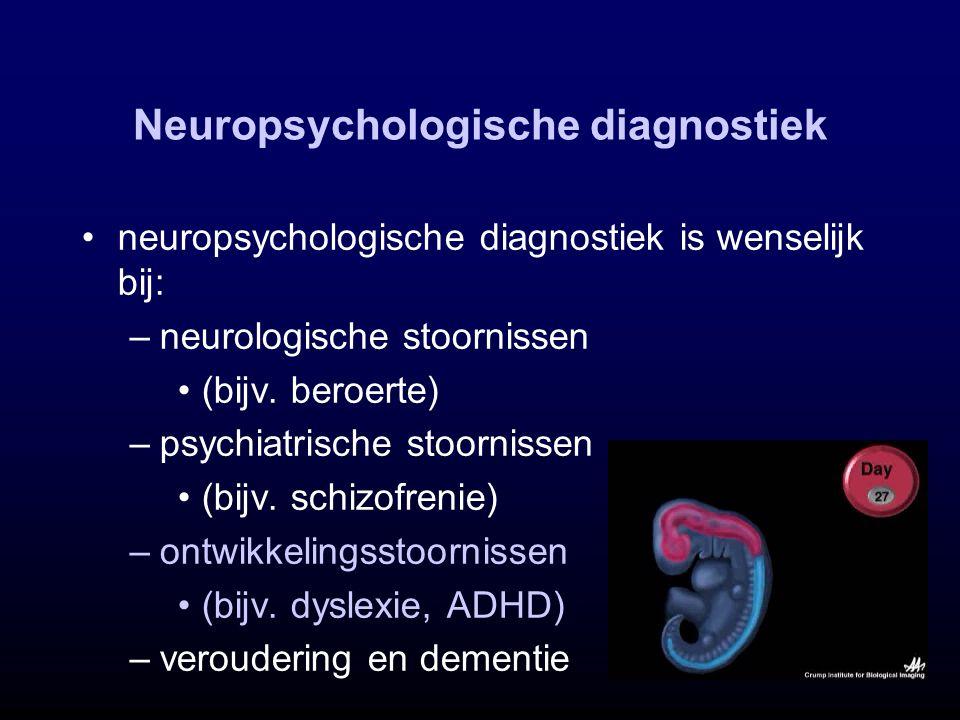 Neuropsychologische diagnostiek