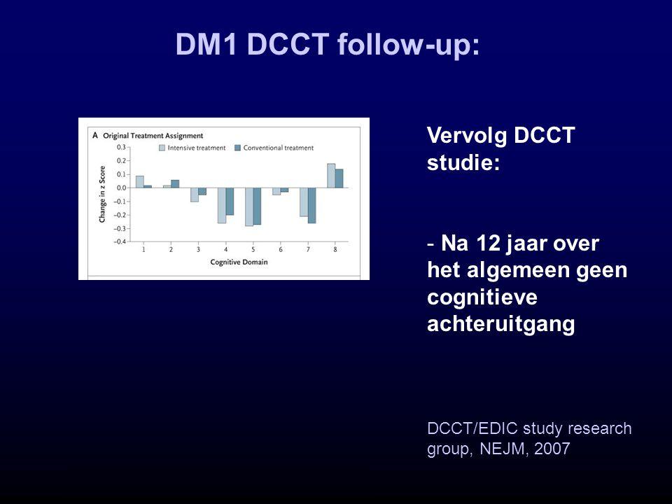DM1 DCCT follow-up: Vervolg DCCT studie: