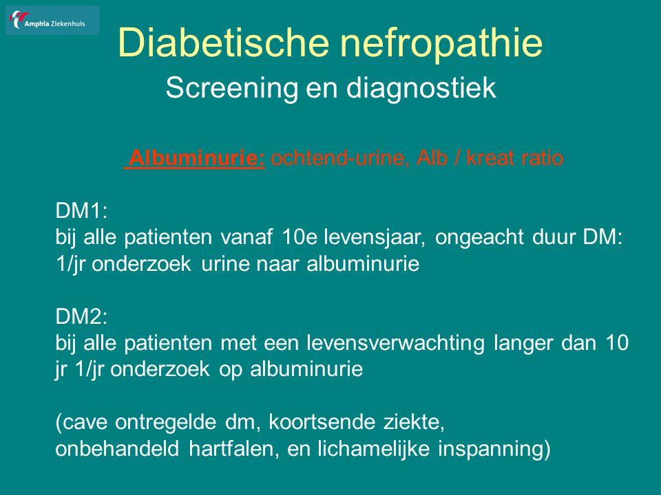 Diabetische nefropathie