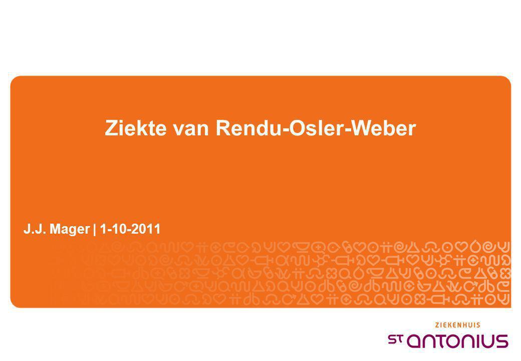 Ziekte van Rendu-Osler-Weber