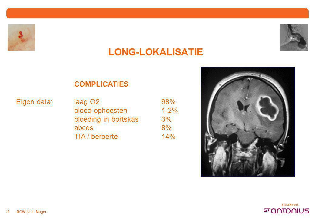 LONG-LOKALISATIE Screening ECHO-onderzoek van het hart