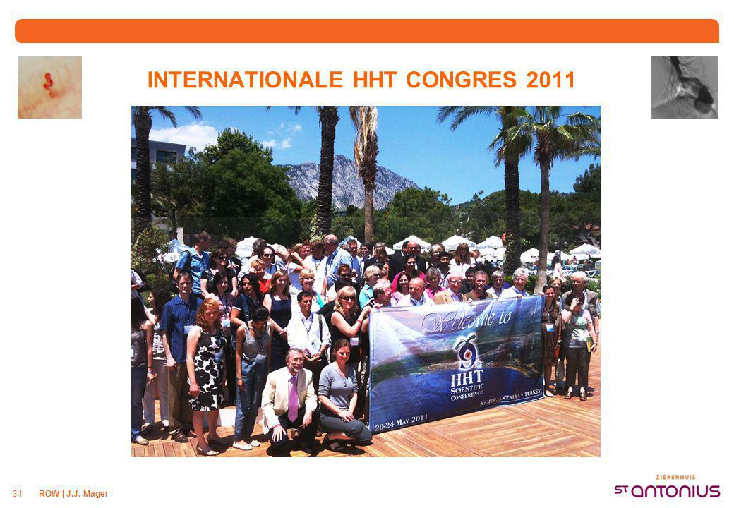 INTERNATIONALE HHT CONGRES 2011