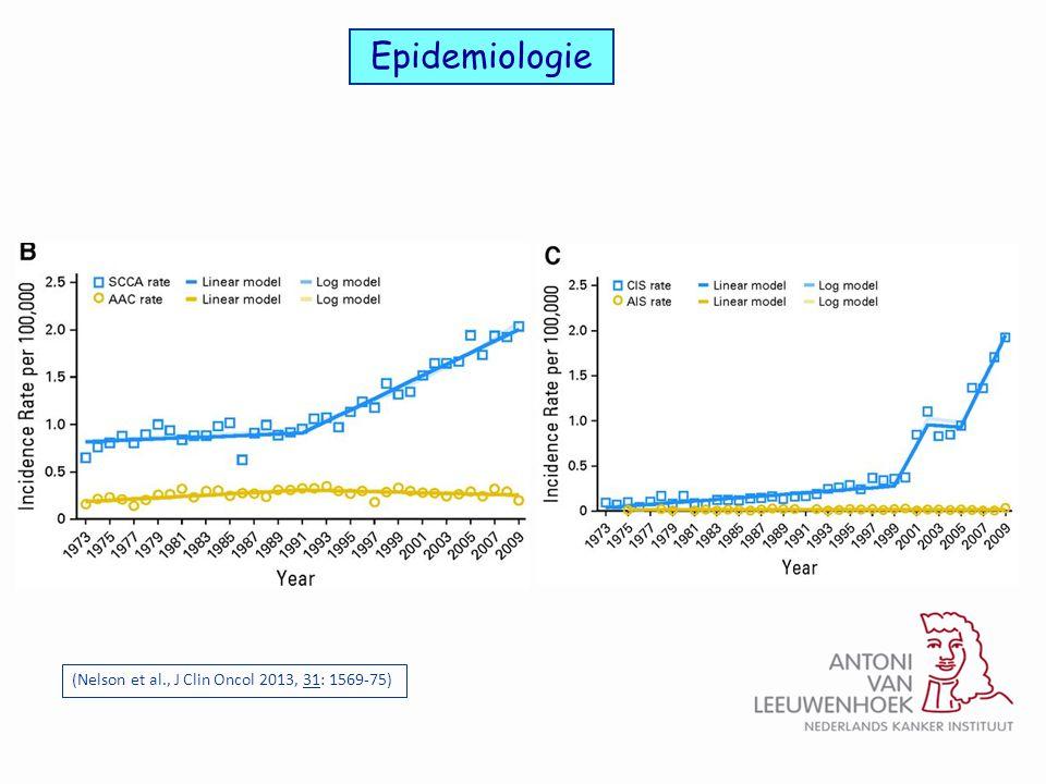 Epidemiologie (Nelson et al., J Clin Oncol 2013, 31: 1569-75)