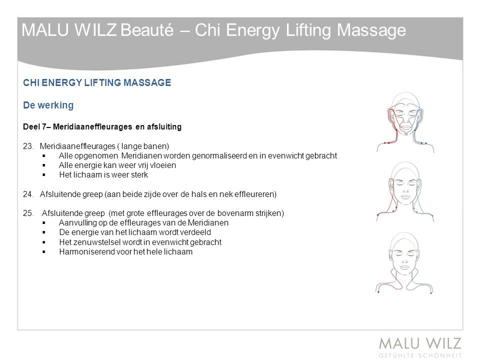 MALU WILZ Beauté – Chi Energy Lifting Massage