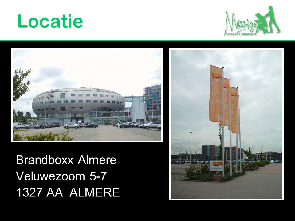 Locatie Brandboxx Almere Veluwezoom 5-7 1327 AA ALMERE