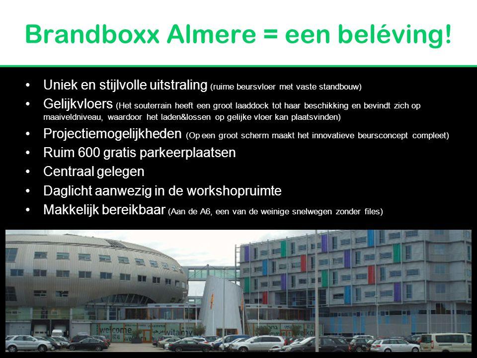Brandboxx Almere = een beléving!