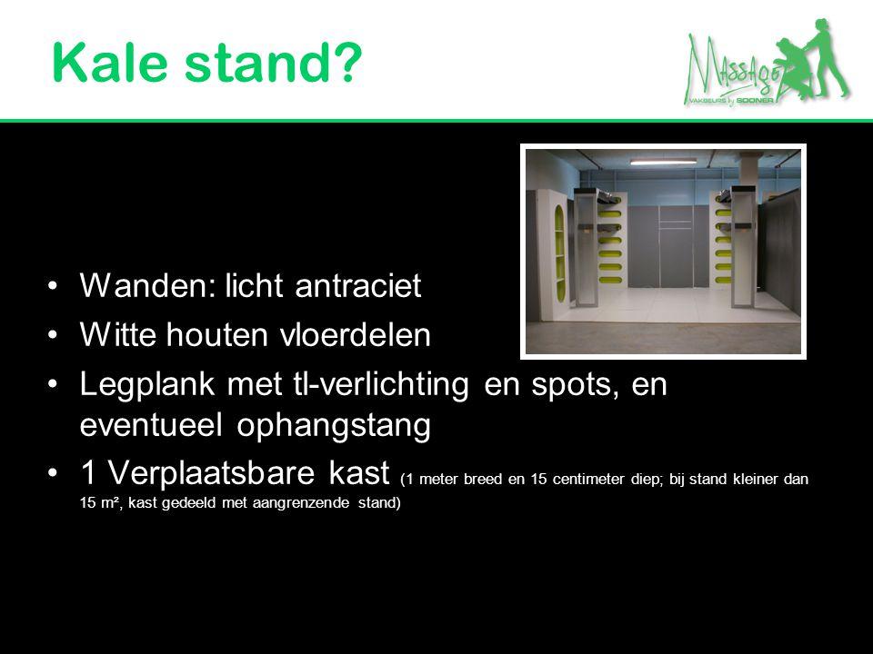 Kale stand Wanden: licht antraciet Witte houten vloerdelen