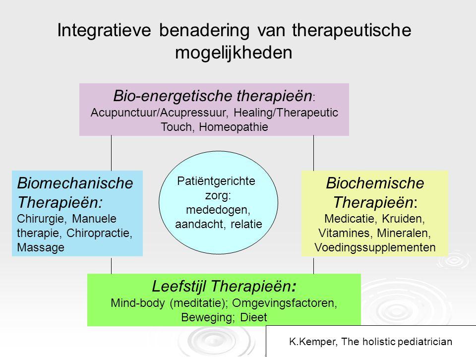 Integratieve benadering van therapeutische mogelijkheden