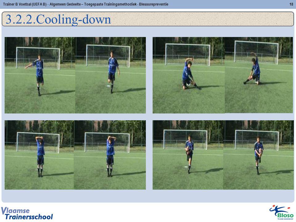 Trainer B Voetbal (UEFA B) - Algemeen Gedeelte – Toegepaste Trainingsmethodiek - Blessurepreventie