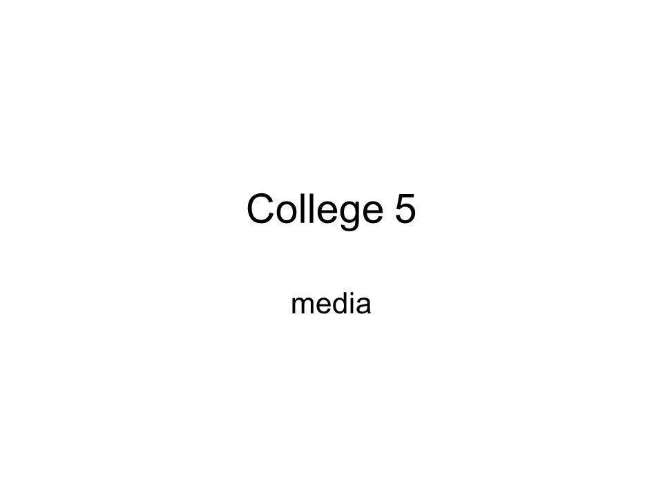 College 5 media