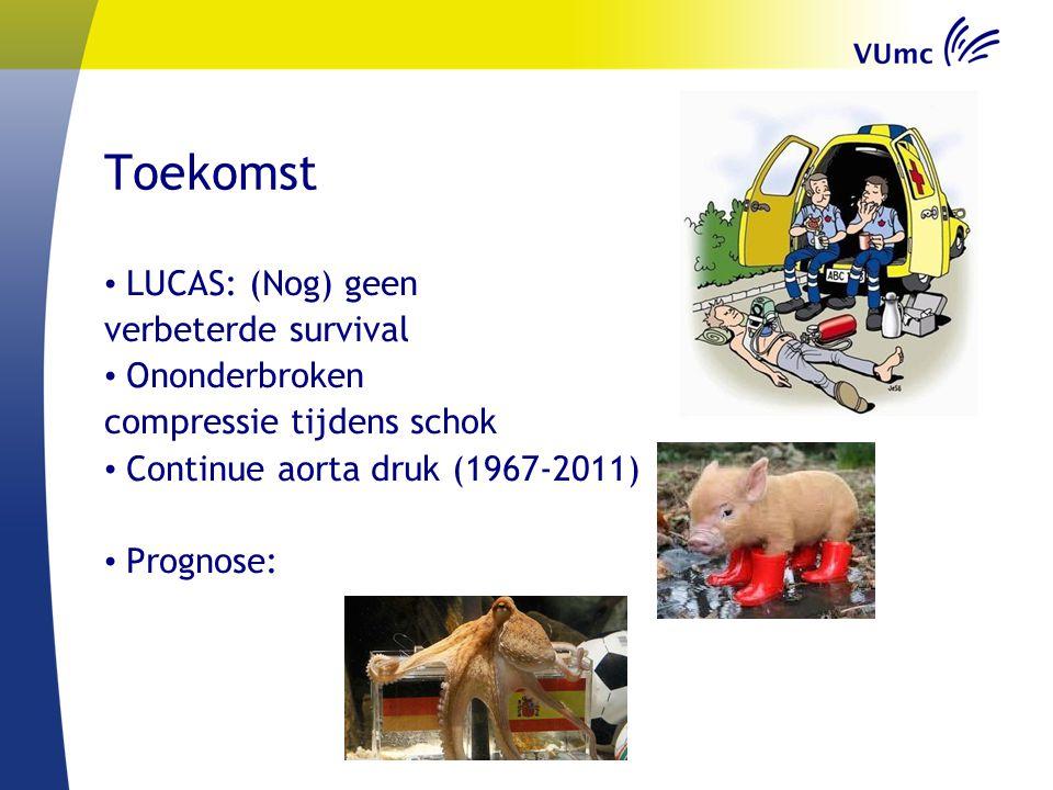 Toekomst LUCAS: (Nog) geen verbeterde survival Ononderbroken