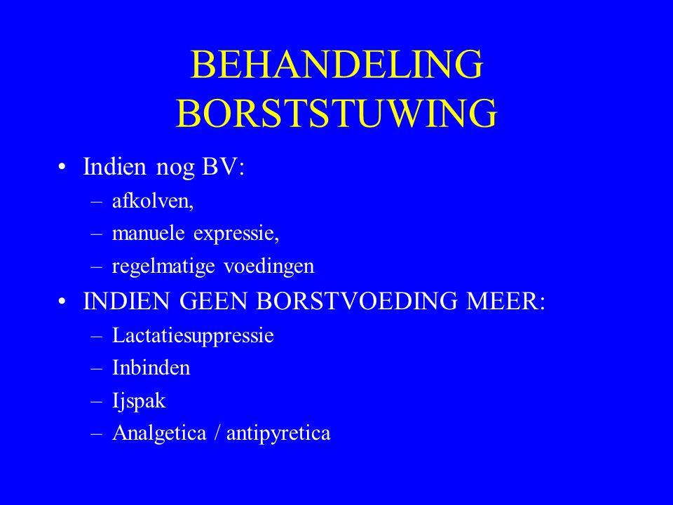 BEHANDELING BORSTSTUWING
