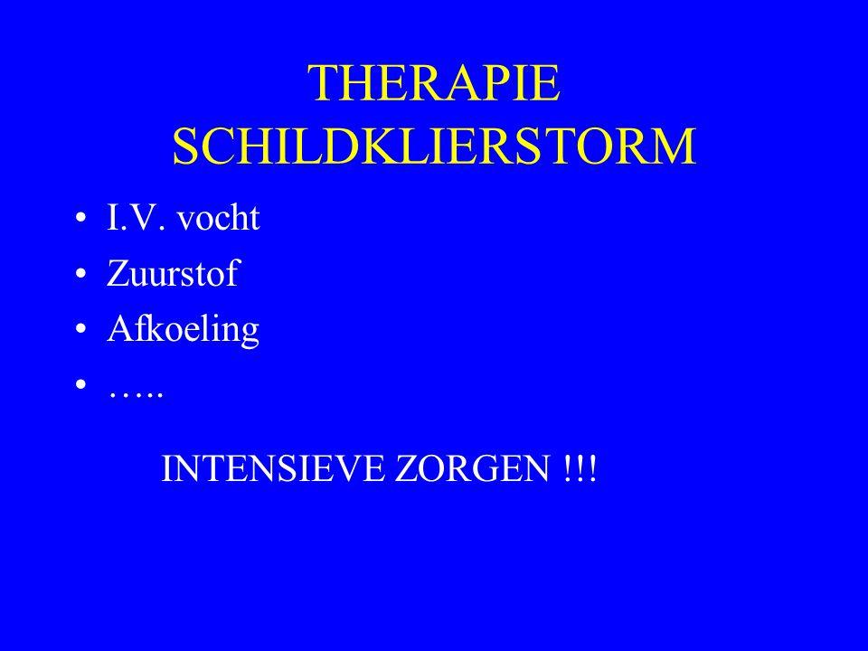 THERAPIE SCHILDKLIERSTORM