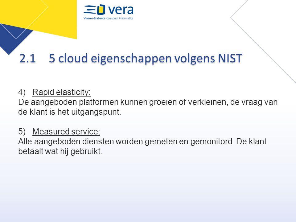 2.1 5 cloud eigenschappen volgens NIST