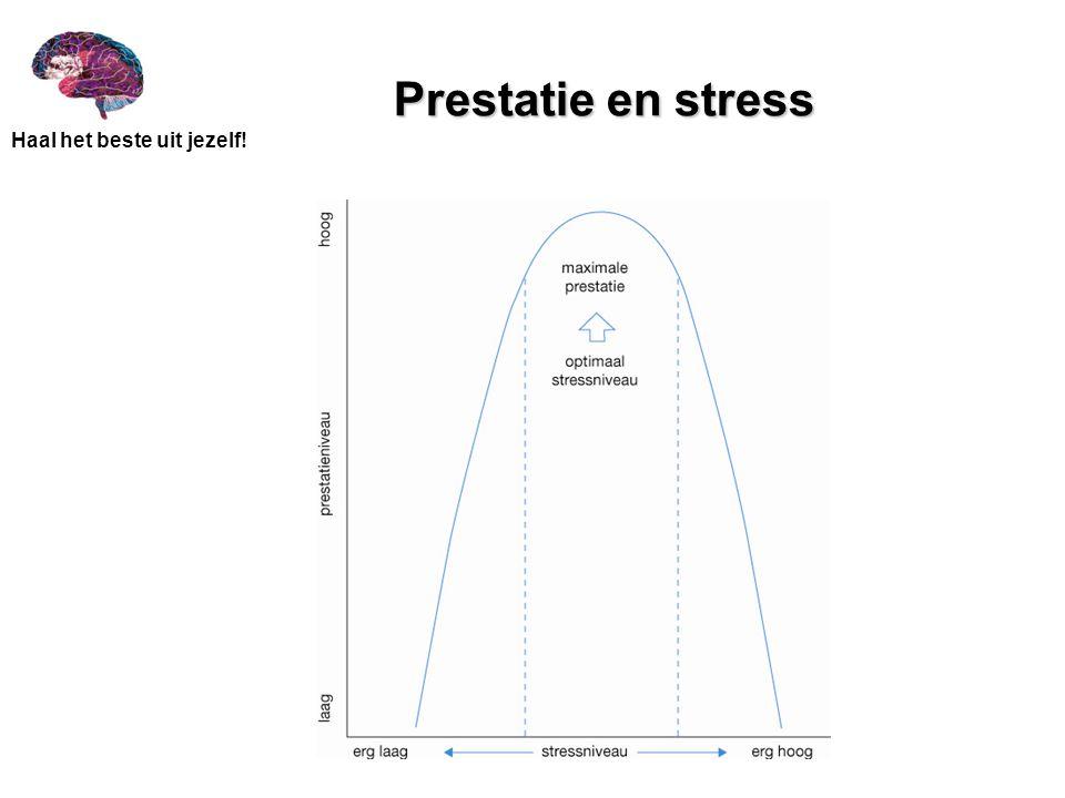 Prestatie en stress