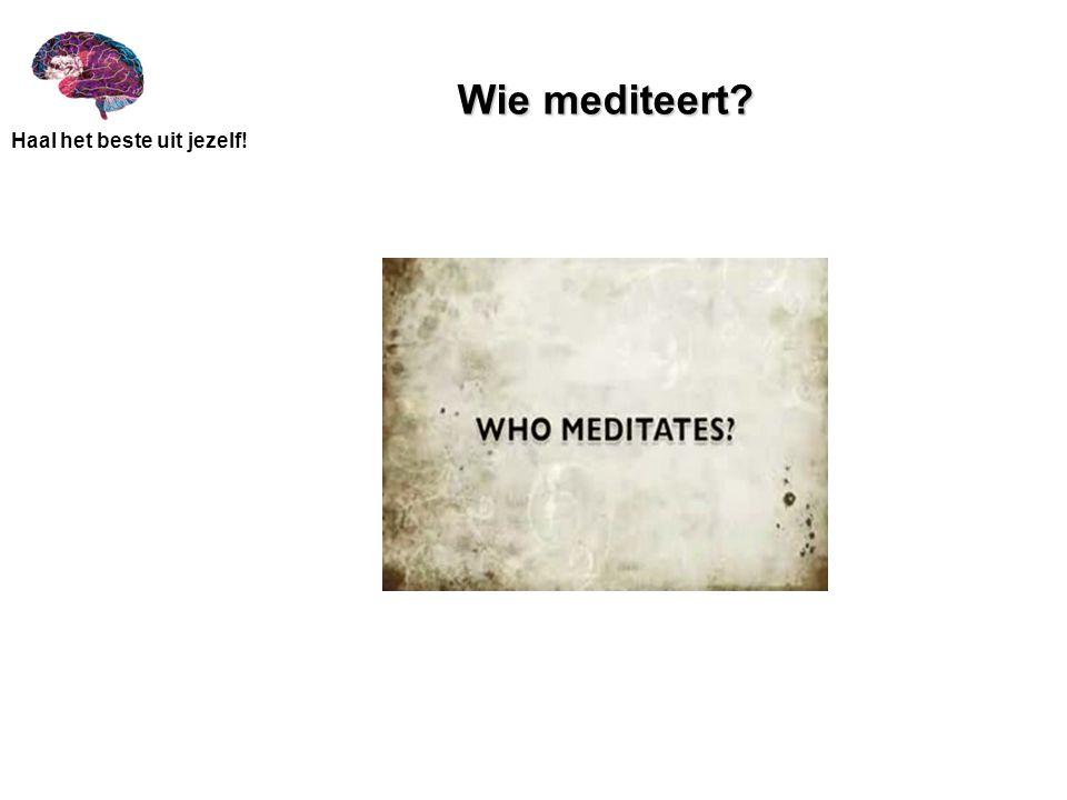 Wie mediteert