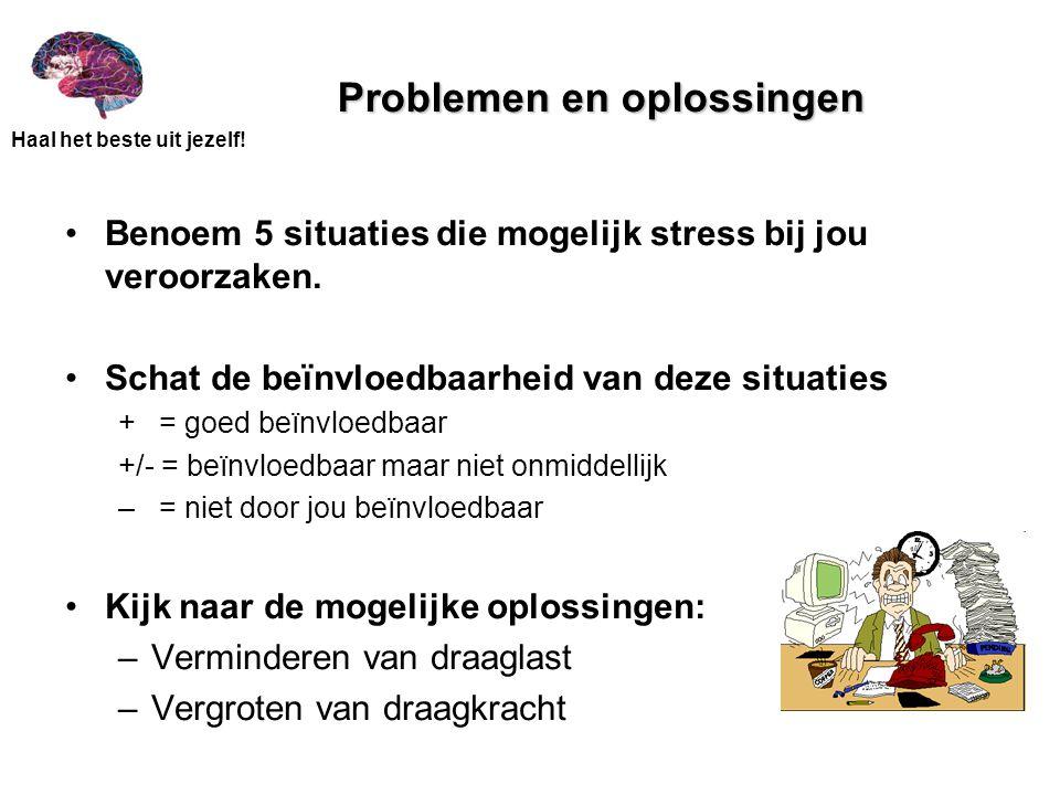 Problemen en oplossingen