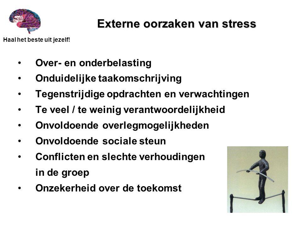 Externe oorzaken van stress