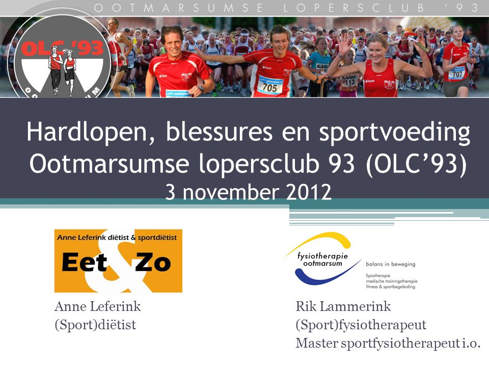 Rik Lammerink (Sport)fysiotherapeut Master sportfysiotherapeut i.o.