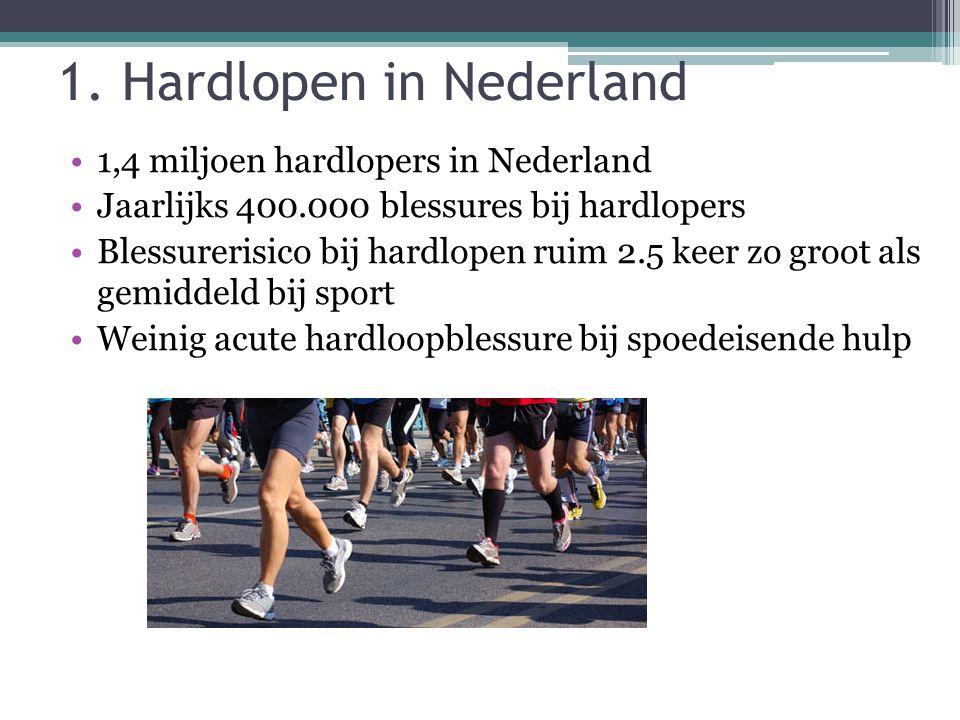 1. Hardlopen in Nederland