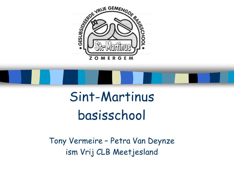 Sint-Martinus basisschool Tony Vermeire – Petra Van Deynze
