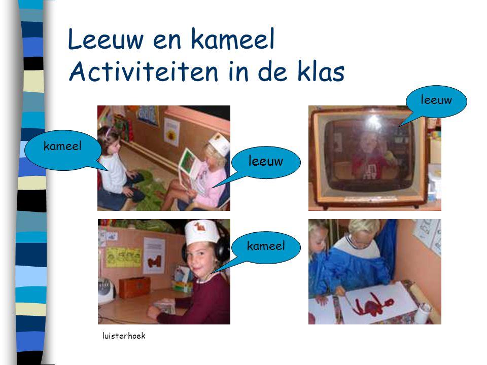 Leeuw en kameel Activiteiten in de klas