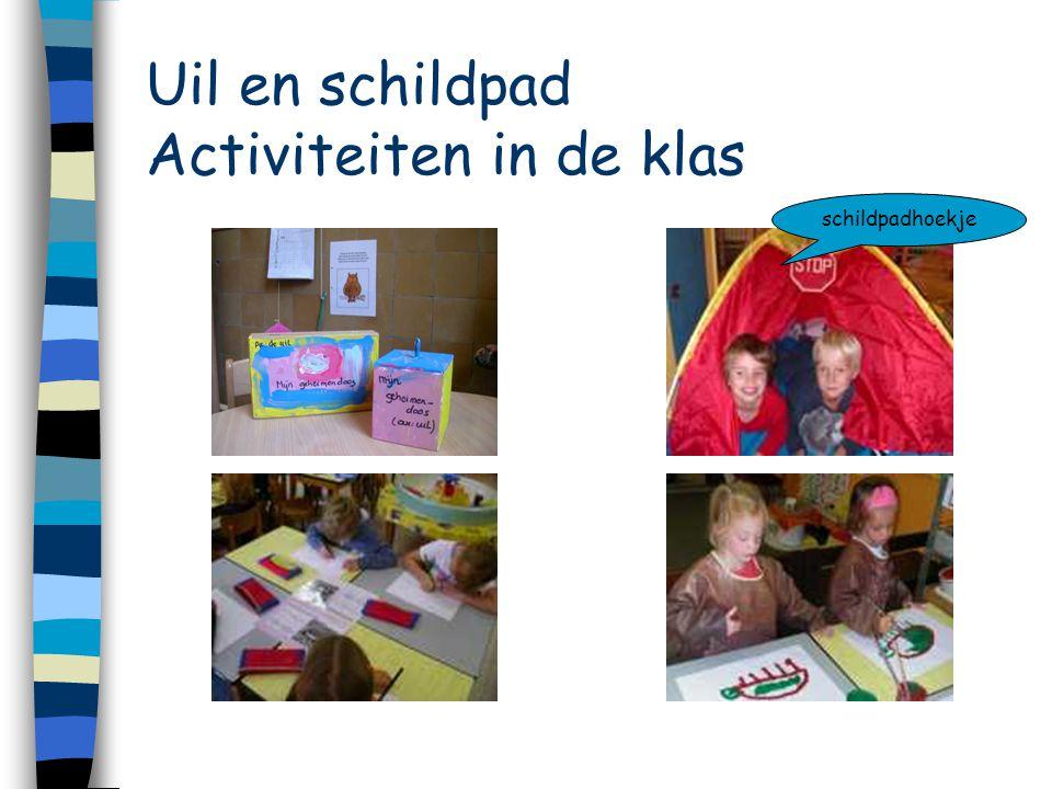Uil en schildpad Activiteiten in de klas