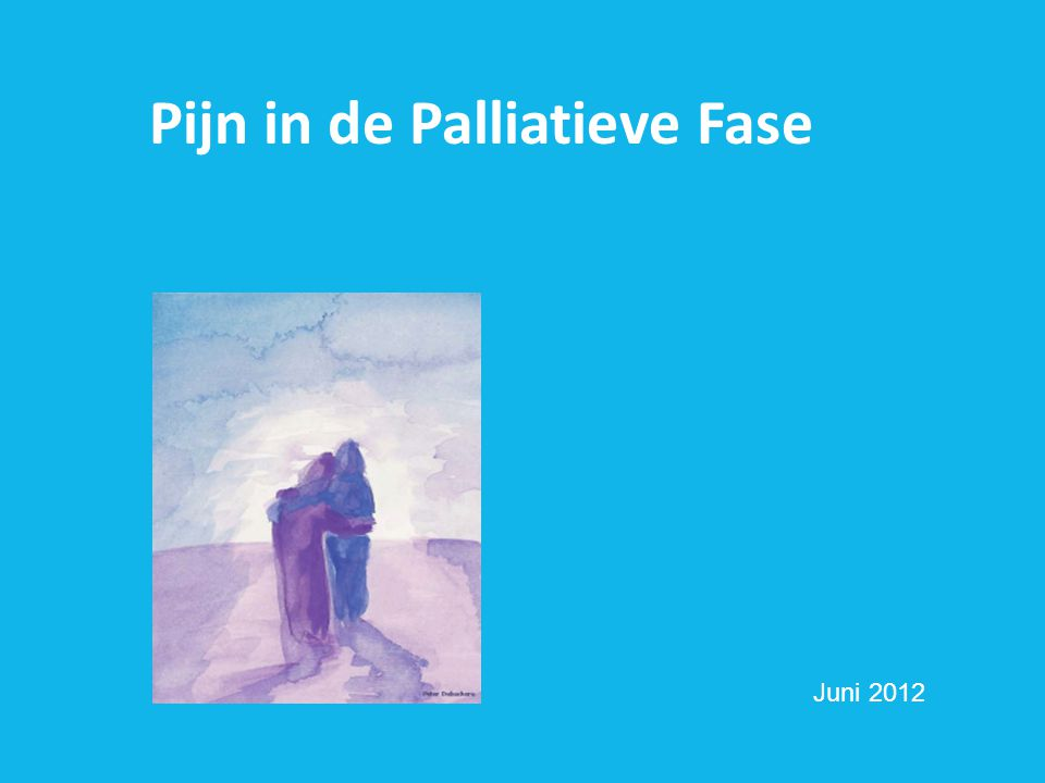 Pijn in de Palliatieve Fase