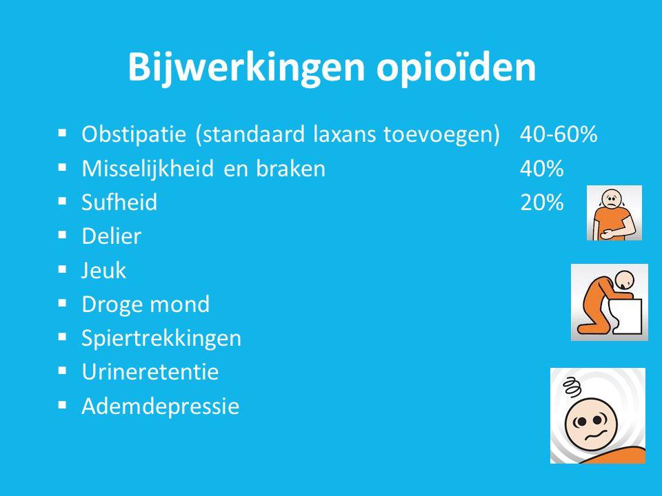 Bijwerkingen opioïden