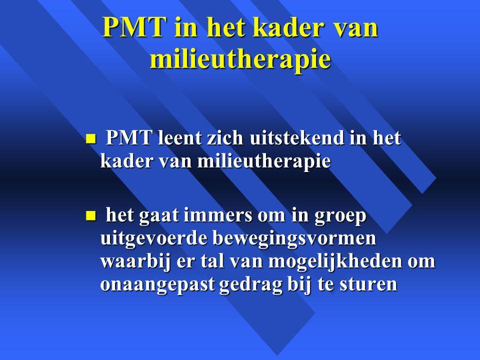 PMT in het kader van milieutherapie