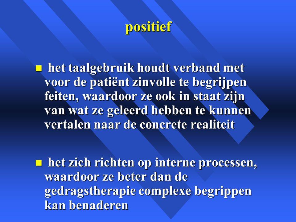 positief