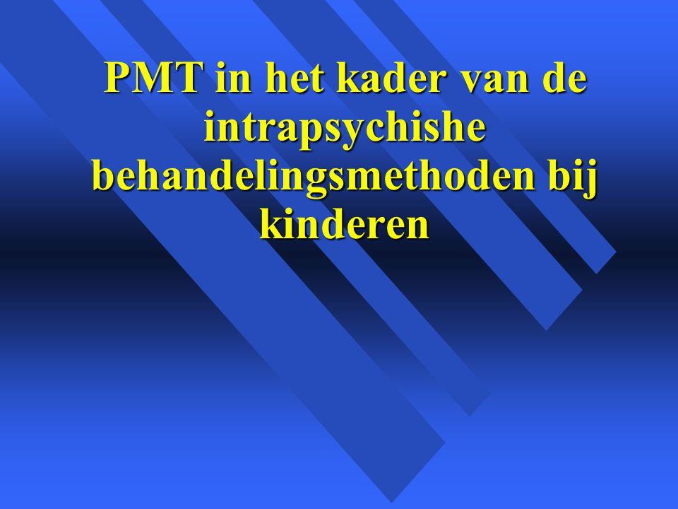 PMT in het kader van de intrapsychishe behandelingsmethoden bij kinderen