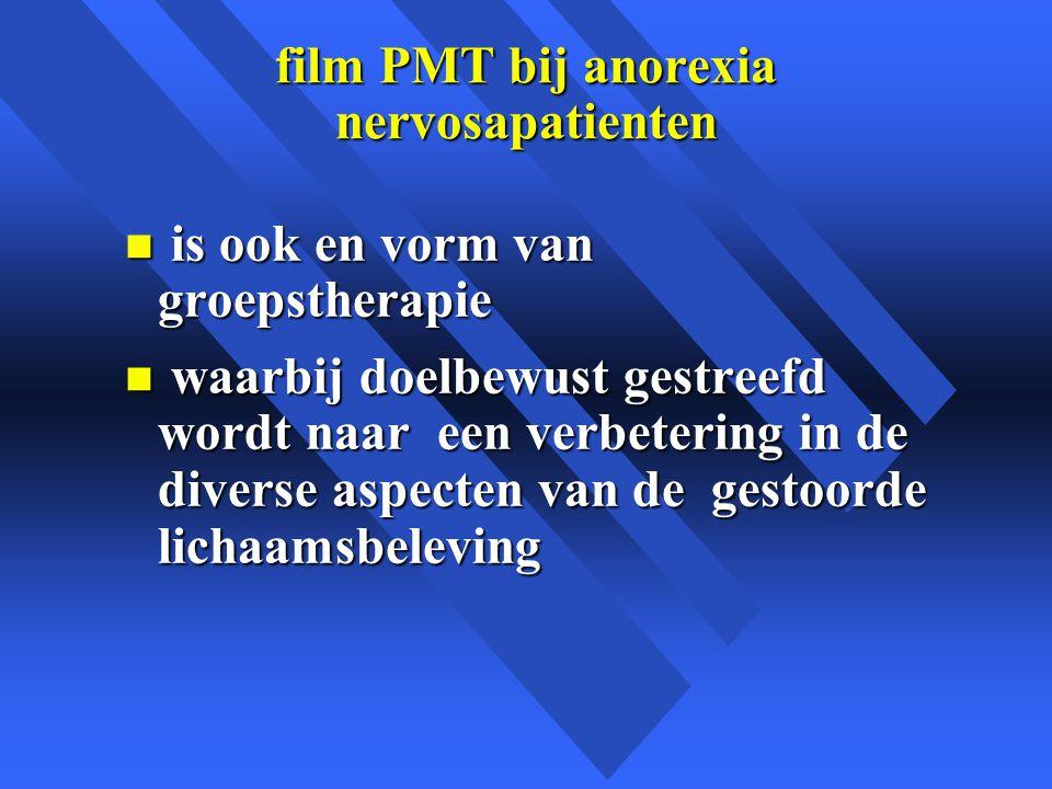 film PMT bij anorexia nervosapatienten