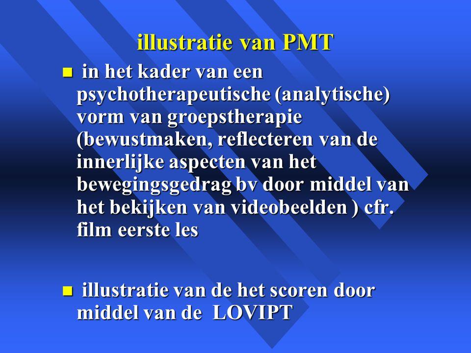 illustratie van PMT