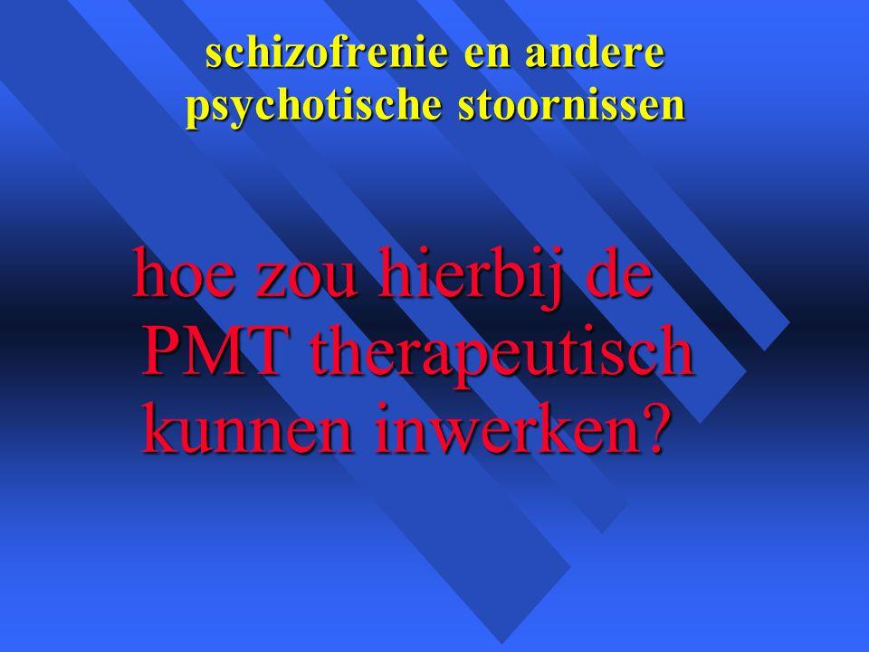schizofrenie en andere psychotische stoornissen