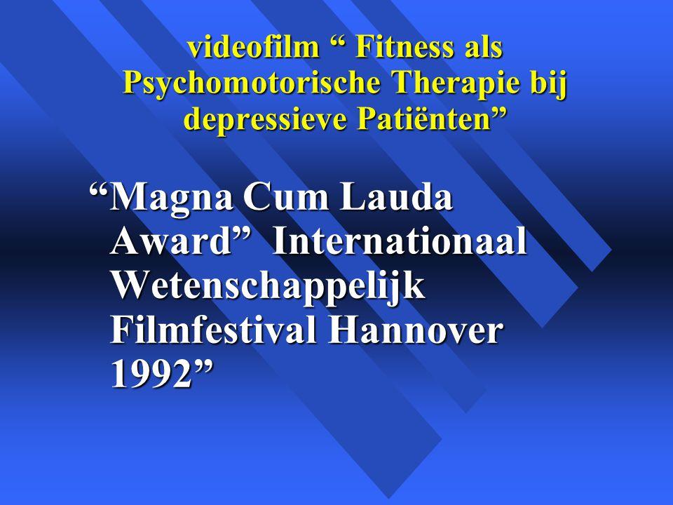videofilm Fitness als Psychomotorische Therapie bij depressieve Patiënten