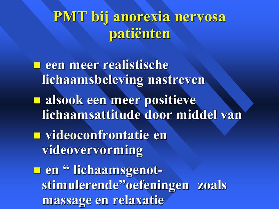 PMT bij anorexia nervosa patiënten