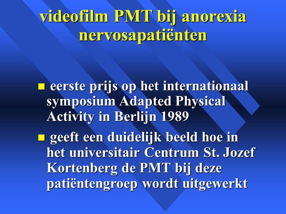 videofilm PMT bij anorexia nervosapatiënten