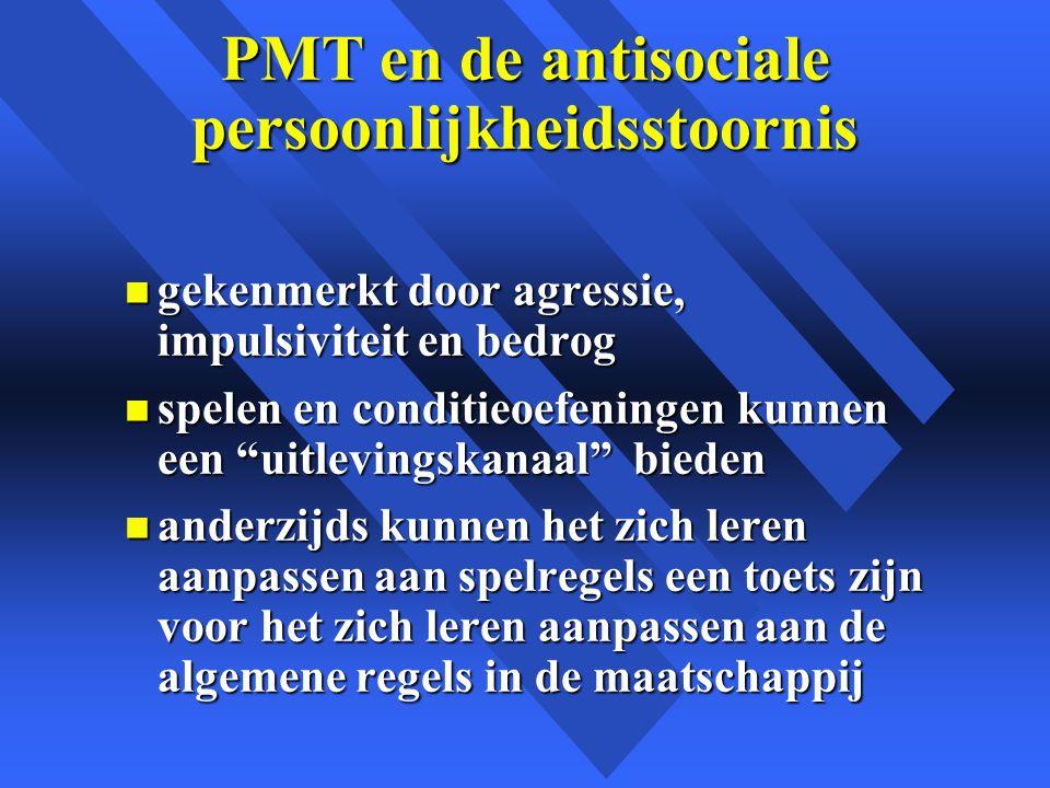 PMT en de antisociale persoonlijkheidsstoornis