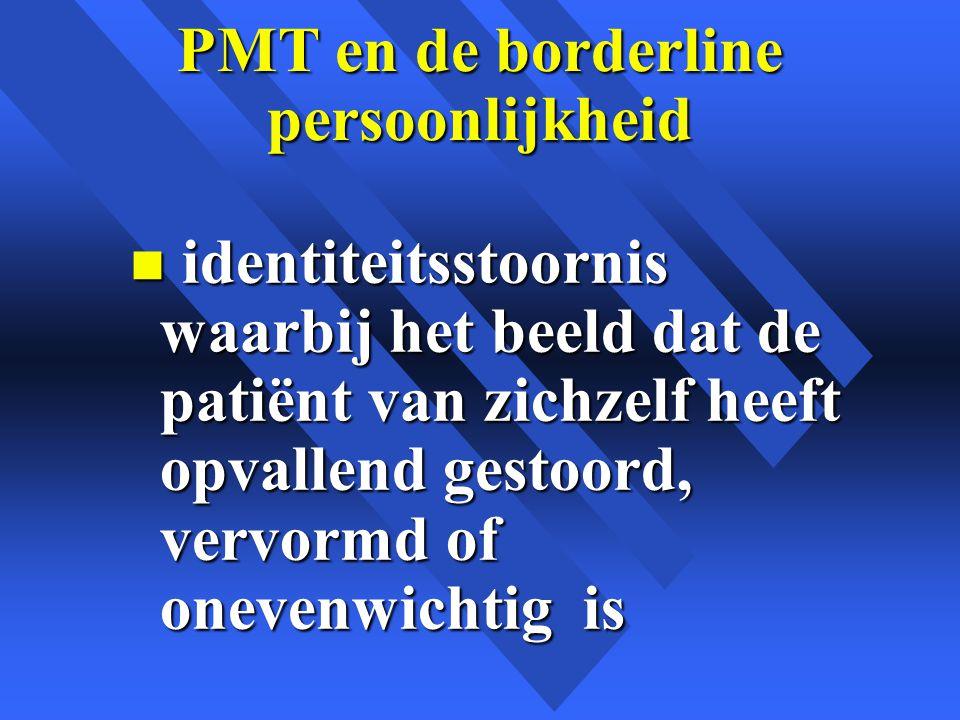 PMT en de borderline persoonlijkheid