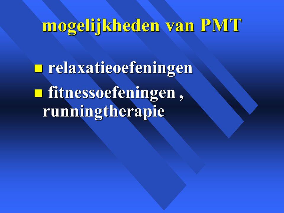 mogelijkheden van PMT relaxatieoefeningen