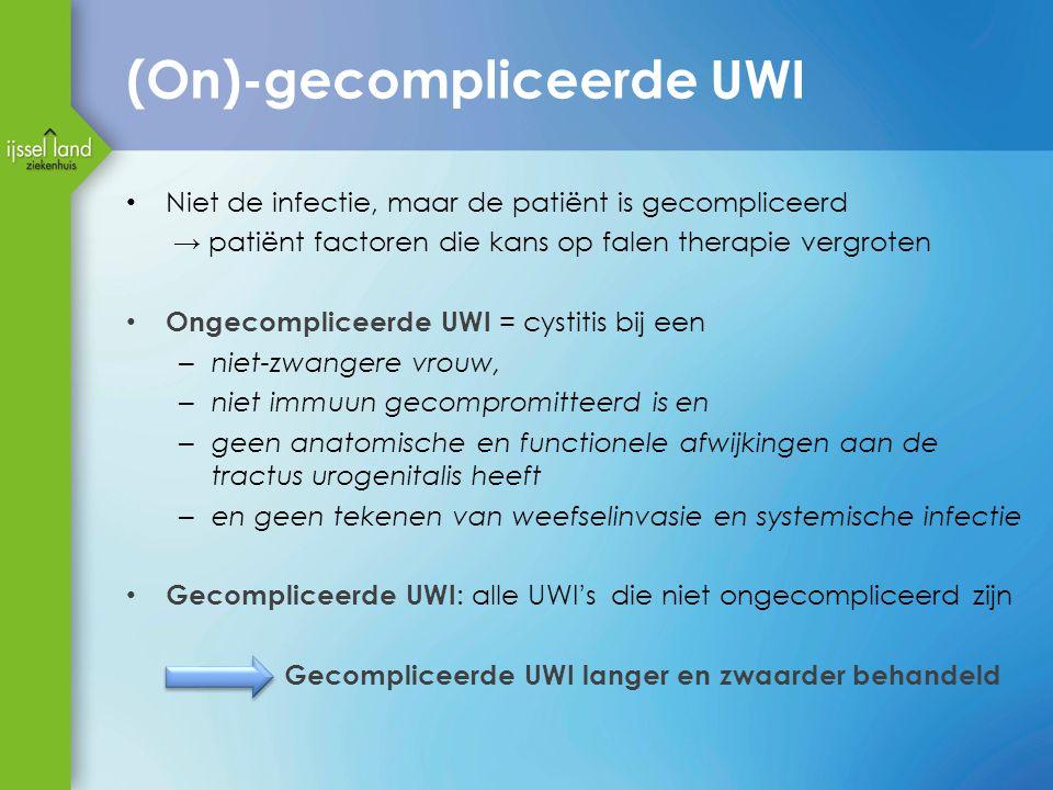 (On)-gecompliceerde UWI