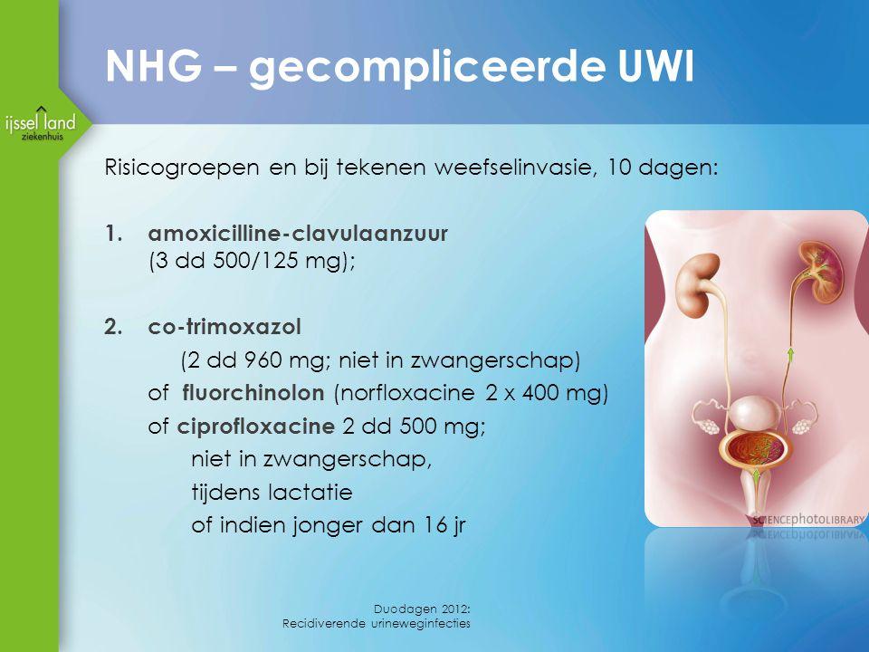 NHG – gecompliceerde UWI