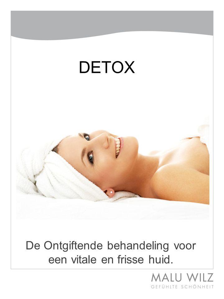 De Ontgiftende behandeling voor een vitale en frisse huid.