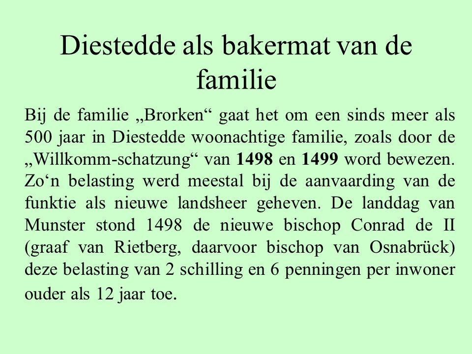 Diestedde als bakermat van de familie
