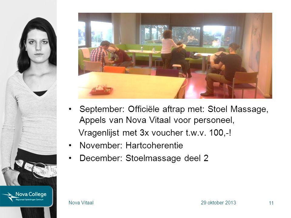 Vragenlijst met 3x voucher t.w.v. 100,-! November: Hartcoherentie